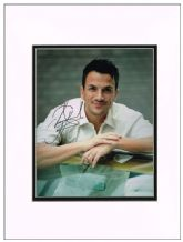 Peter Andre Autograph Photo Signed